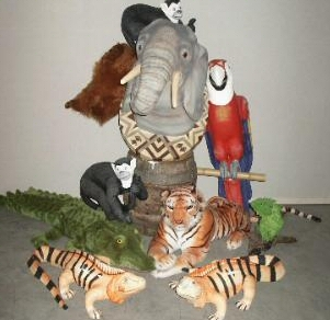 plastic olifant decoratie