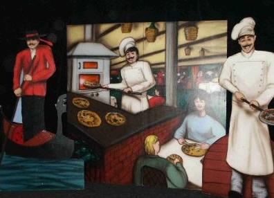 Italiaans decor en decoratie huren of inhuren bij geerling evenementen artiesten decor en - Decoratie pizzeria ...